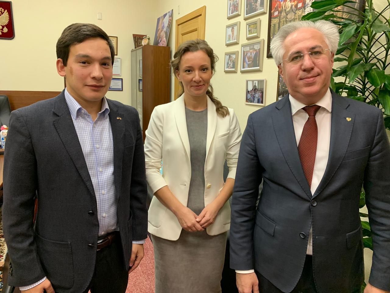 Рашид Исмаилов и Анна Кузнецова