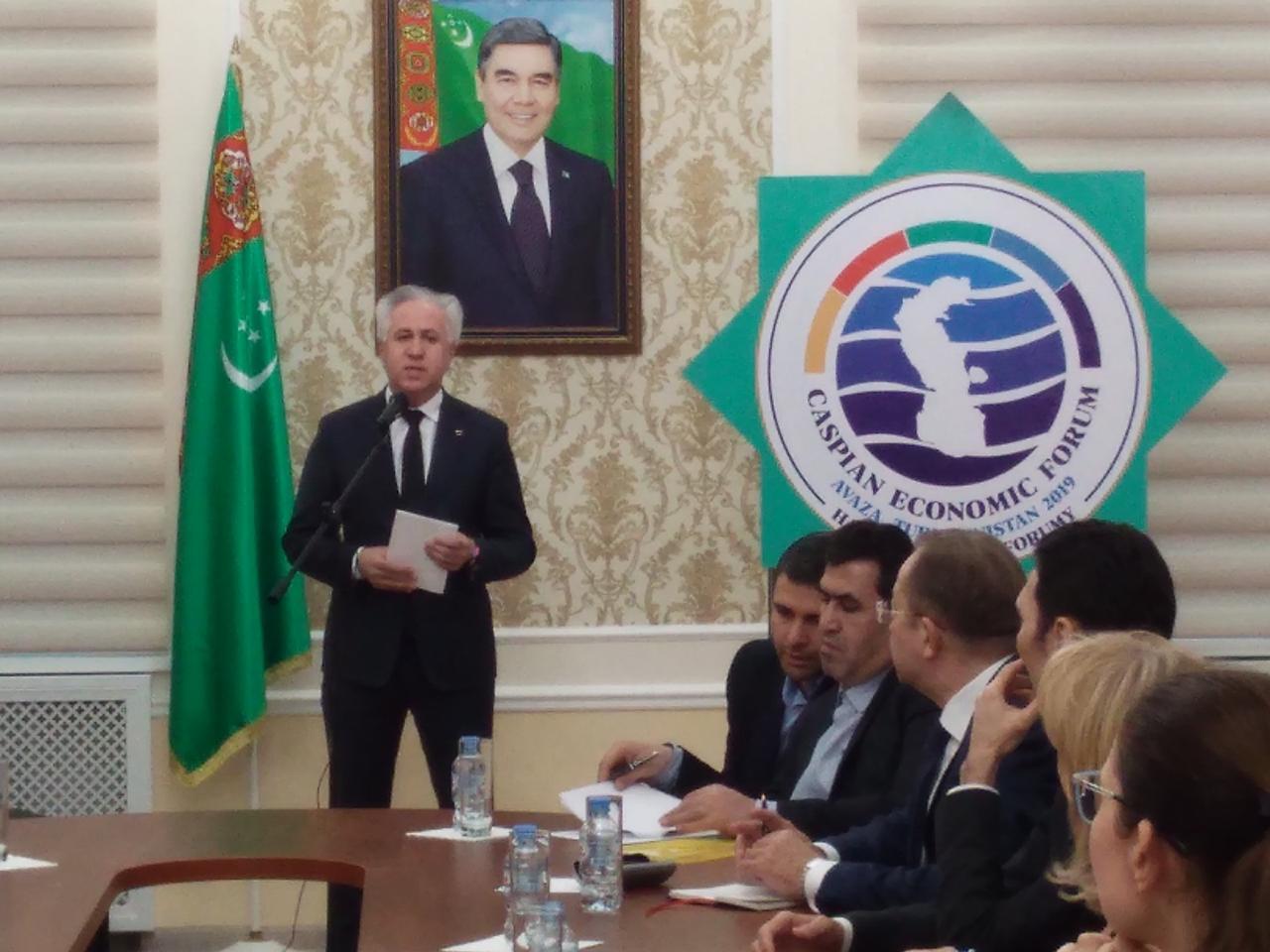 Рашид Исмаилов на Каспийском экономическом форуме