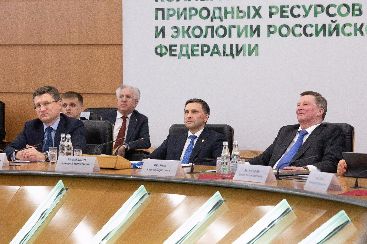 Рашид Исмаилов на заседании Коллегии Минприроды России