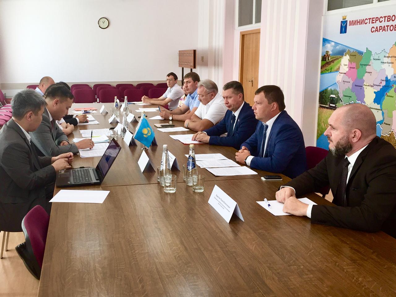 Совместное использование и охрана водных ресурсов Россией и Казахстаном в повестке Правительства Саратовской области