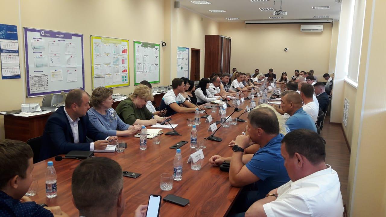 Совещание по национальному проекту «Малое и среднее предпринимательство» в Ульяновской области