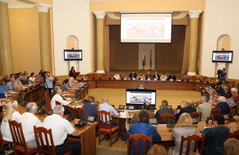 Рабочее совещание с участием Игоря Артамонова в Липецкой области