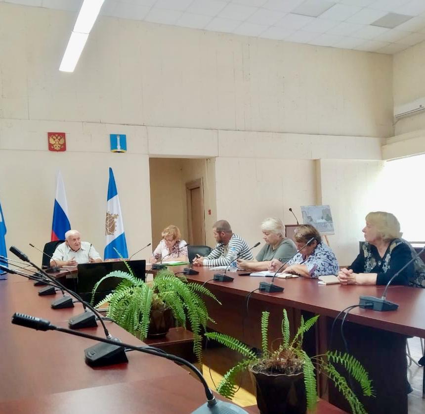 Встреча руководства реготделения РЭО с представителями населения Заволжского района Ульяновской области