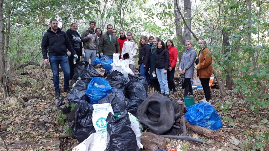 Всемирный день чистоты в Воронеже