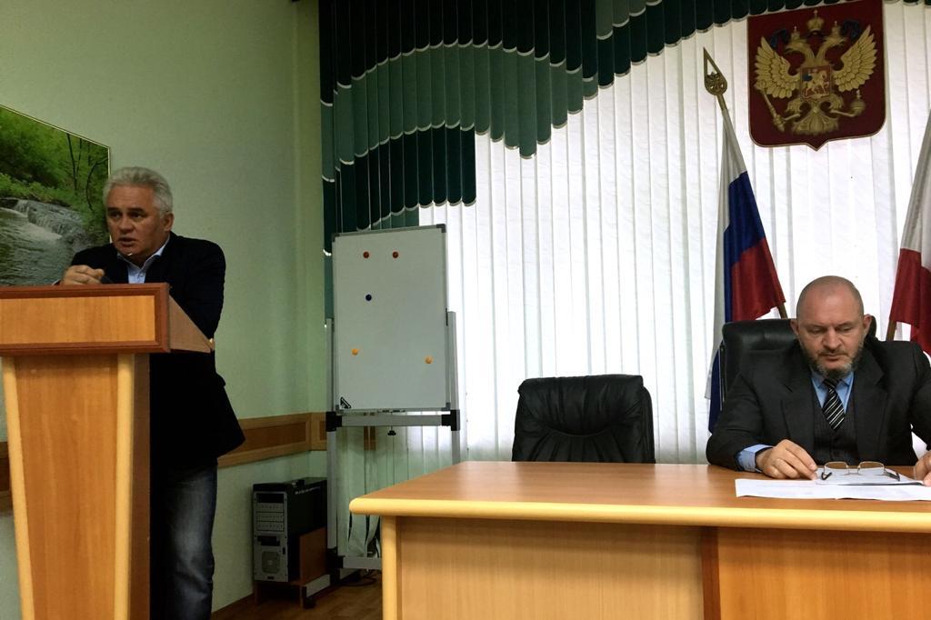 Заседание Общественного совета Минприроды Саратовской области