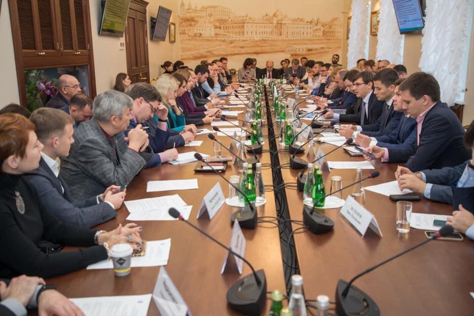 Заседании созданного Подкомитетом по стимулированию инвестиций и развитию в сфере обращения с ТКО Комитета по инвестполитике, институтам развития и экспертной поддержке РСПП