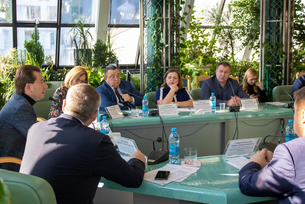 Встреча Руководителя Самарского реготделения Росийского экологического общества и Владимира Бурматова