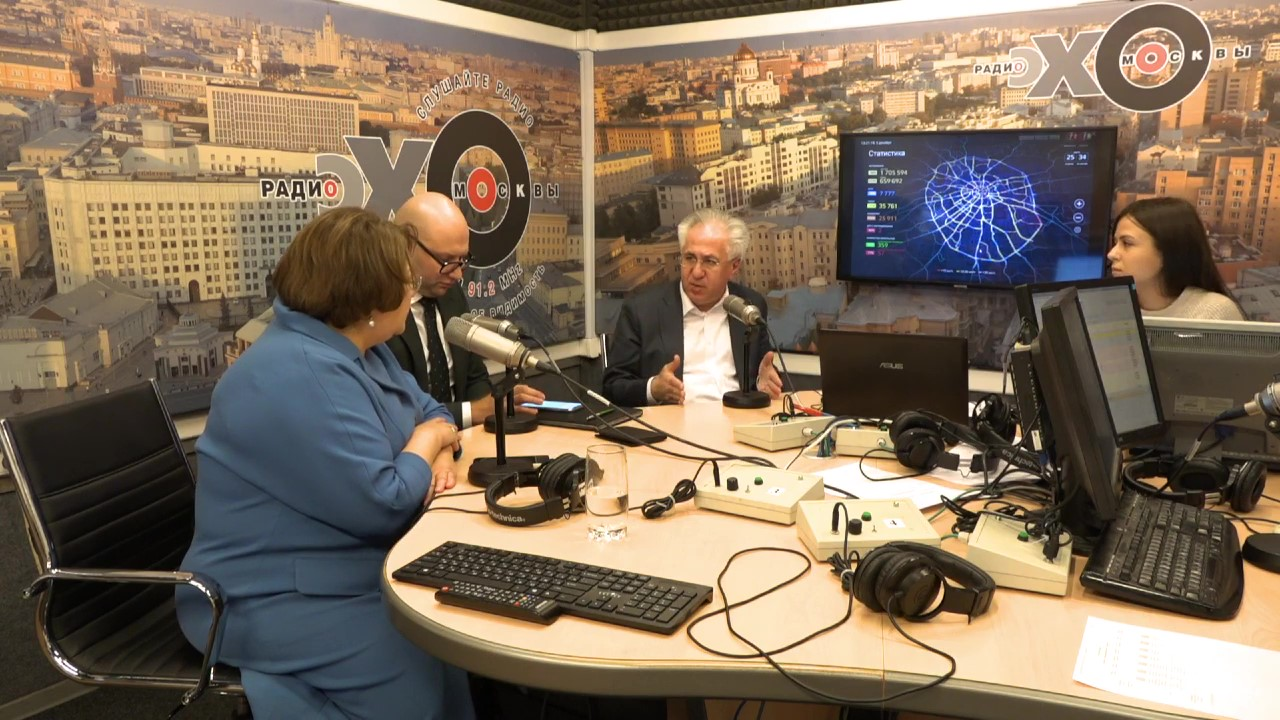 Рашид Исмаилов в эфире радио Эхо Москвы