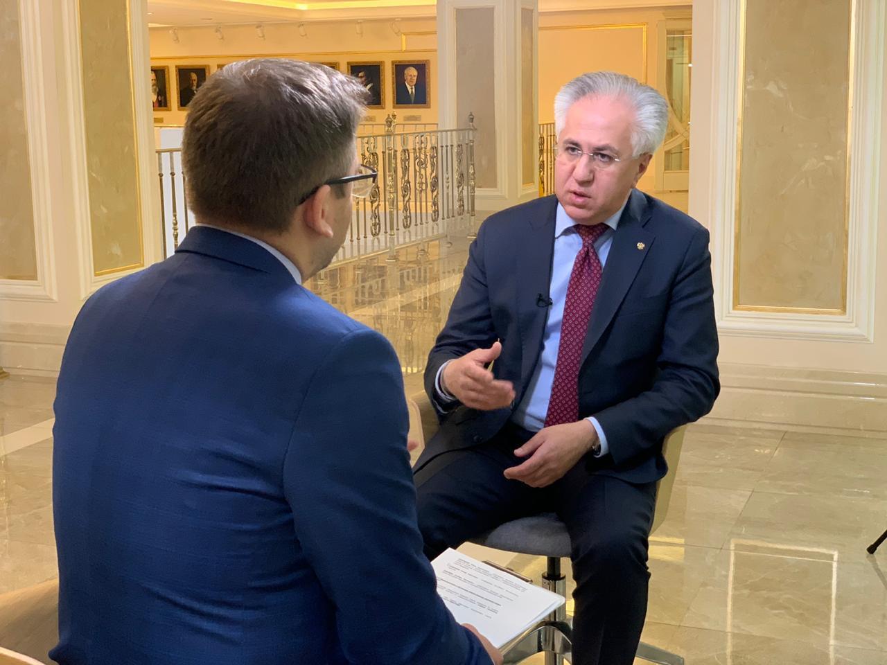 Рашид Исмаилов интервью Вместе-РФ