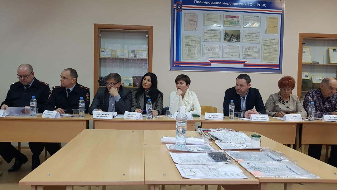 Заседание рабочей группы по вопросам экологии Советского района Ростова-на-Дону