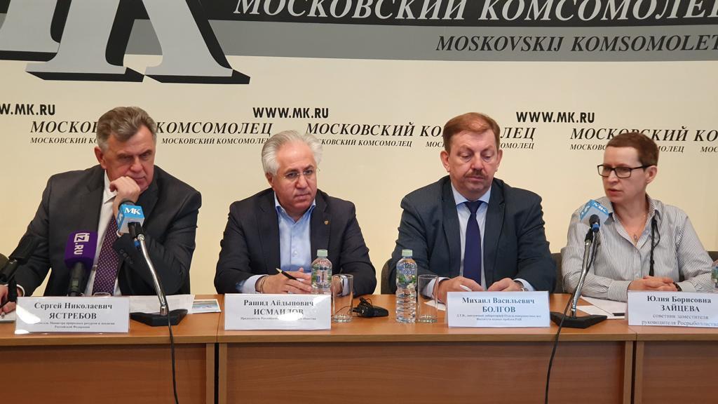 Пресс-конференция по реализации федпроекта «Оздоровление Волги»