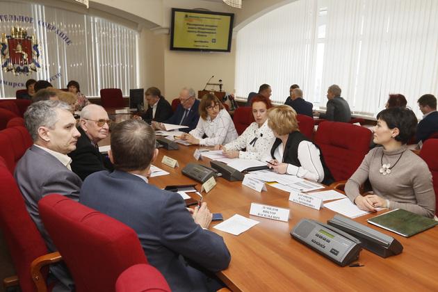 Заседание Совета Общественной палаты Владимирской области