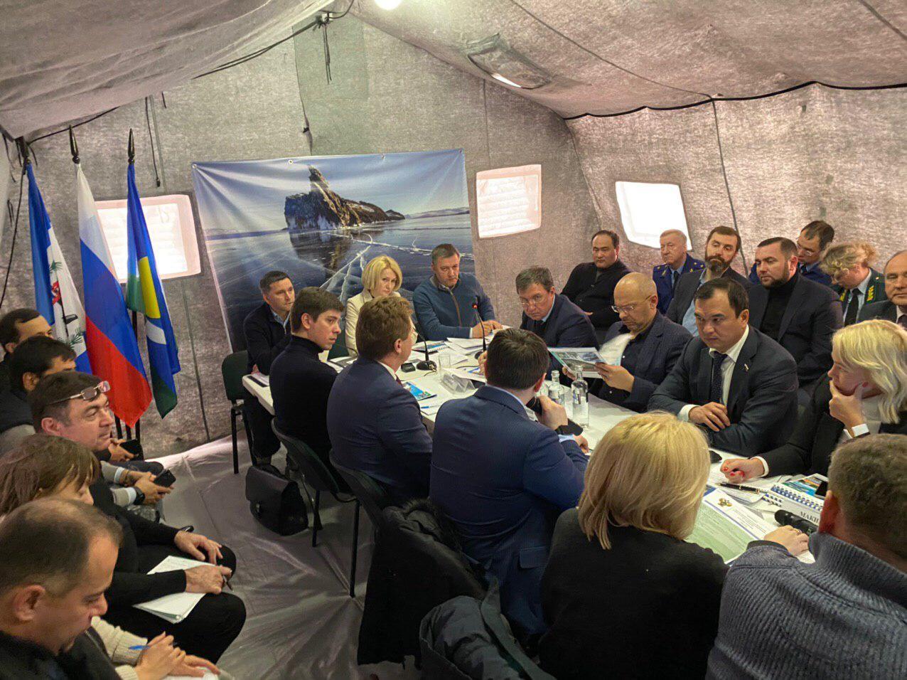 Рабочая поездка заместителя председателя Правительства РФ Виктории Абрамченко в Иркутскую область