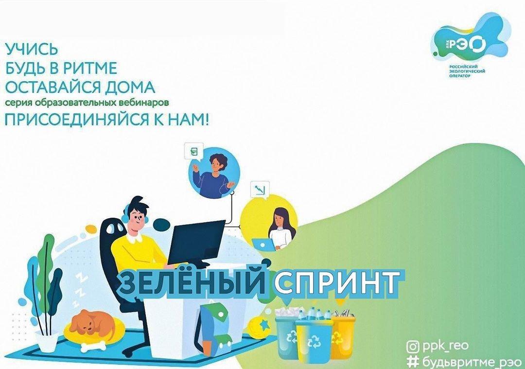 Вебинар Зеленый Спринт РЭО