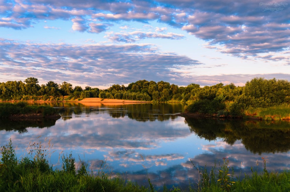Рязанская область река Ока