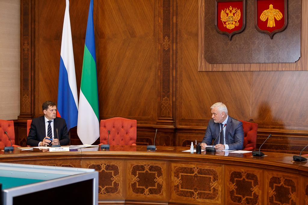 Совещании с руководством Республики Коми и ППК «РЭО»