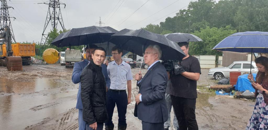 Рабочий визит Рашида Исмаилова в Нижегородскую область