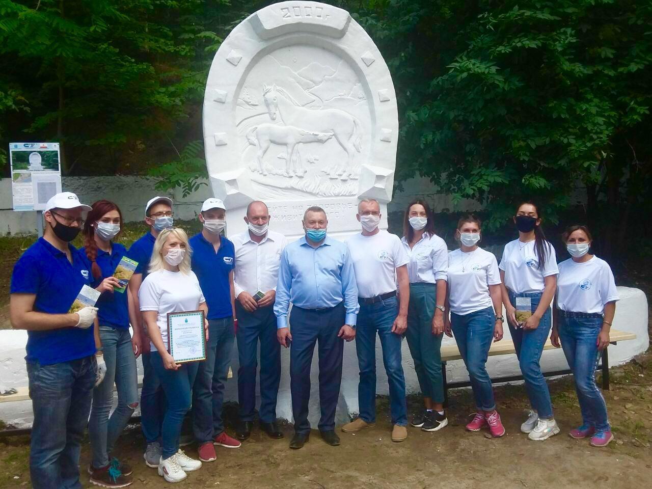 Саратовское реготделение Российского экологического общества провело субботник на роднике «Татарский»