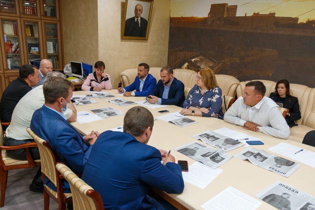 Круглый стол на тему «Состояние водных объектов Тюменской области»