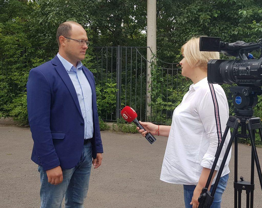 Павел Гудовский - руководитель Красноярского отделения Российского экологического общества
