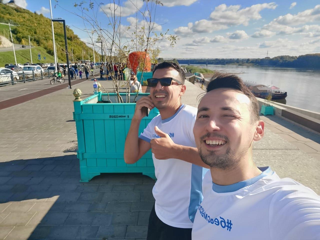Члены регионального отделения «Российского экологического общества» в Республике Башкортостан приняли участие в благотворительном проекте «Бег со смыслом»