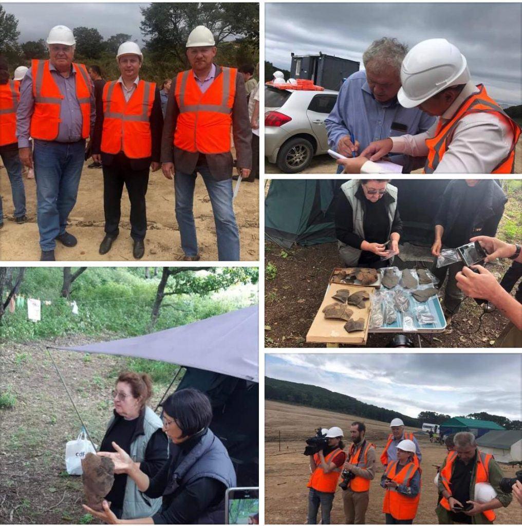 Представители Российского экологического общества провели инспекцию на площадке АО «Находкинский завод минеральных удобрений»