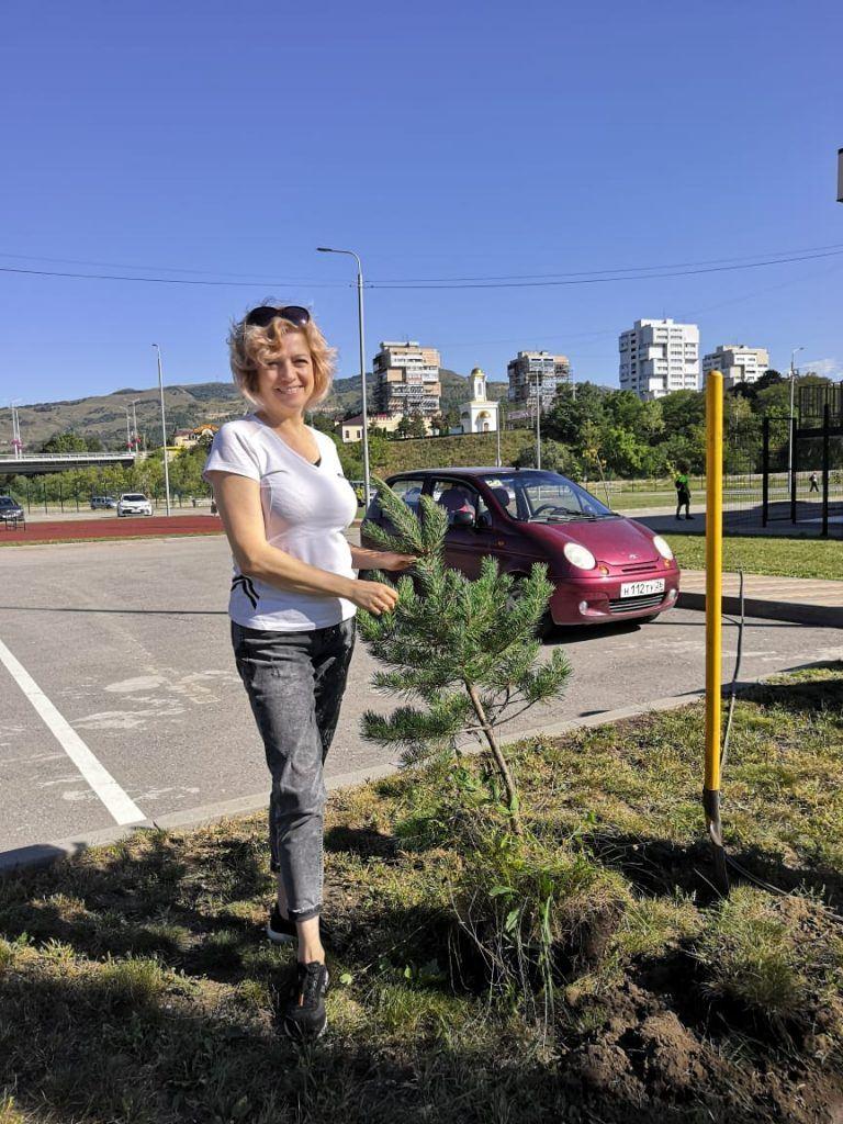 Инна Зекеева руководитель Ставропольского отделения Российского экологического общества