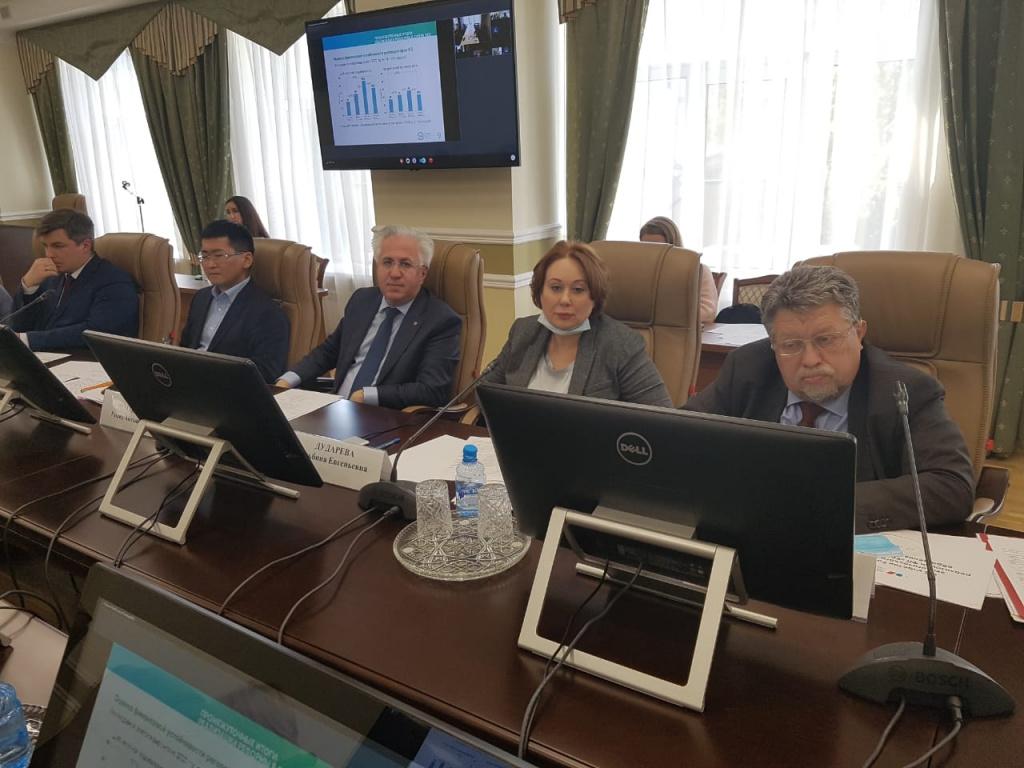 Заседание Общественного совета при Минприроды России