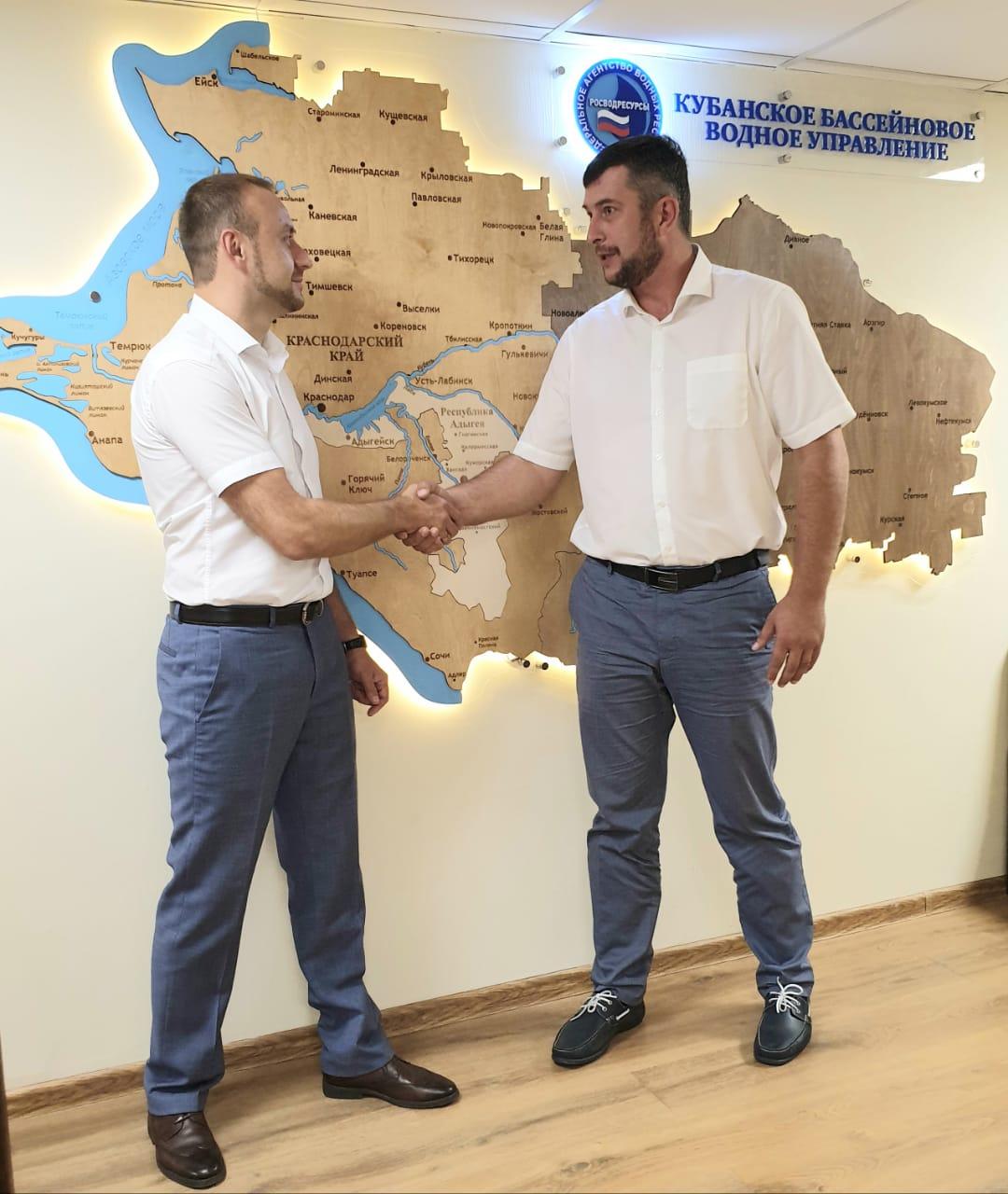 Российское экологическое общество и Кубанское бассейновое водное управление Росводресурсов договорились о взаимодействии