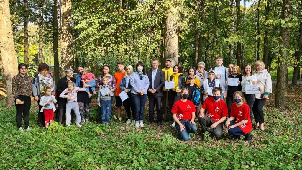 В Рязанской области активно реализуется добровольческий проект «Возрождение дубрав Рязанского края»
