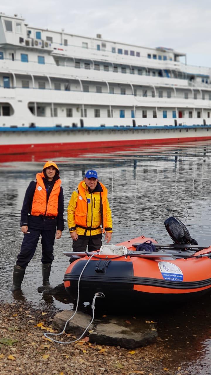 Экспедиция «Чистая Волга» продолжает исследования крупнейшей реки Европы