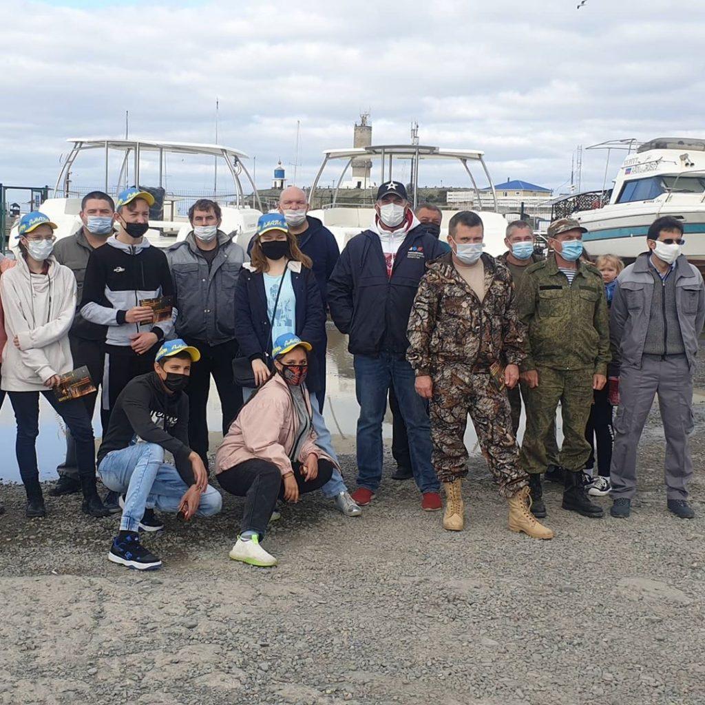 Краснодарское отделение Российского экологического общества приняло участие в очистке ООПТ «Большой Утриш»