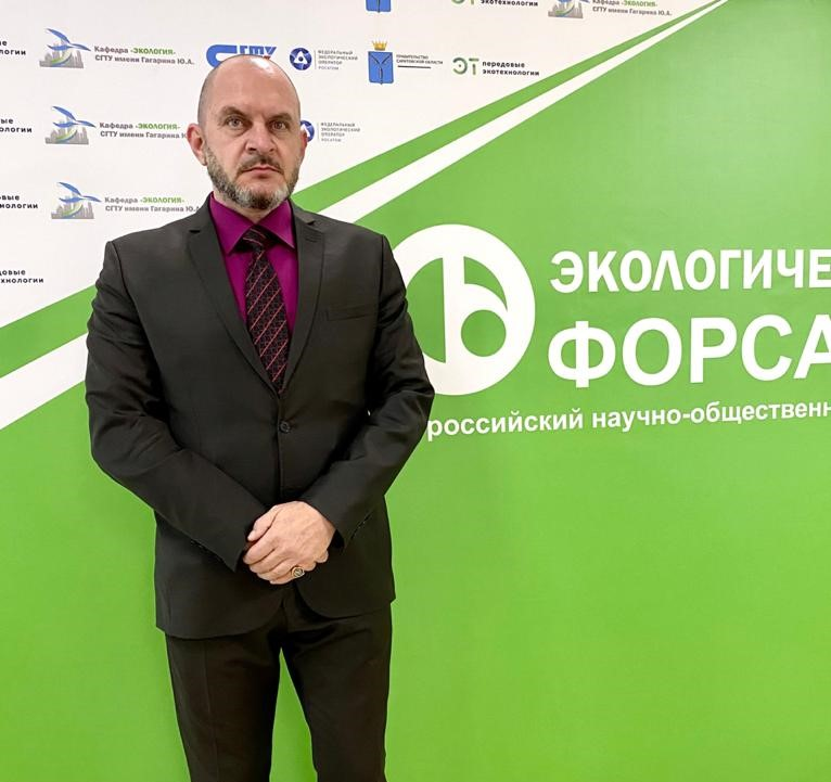 Руководитель Саратовского отделения Российского экологического общества, председатель общественного совета регионального Минприроды Юрий Бажуткин