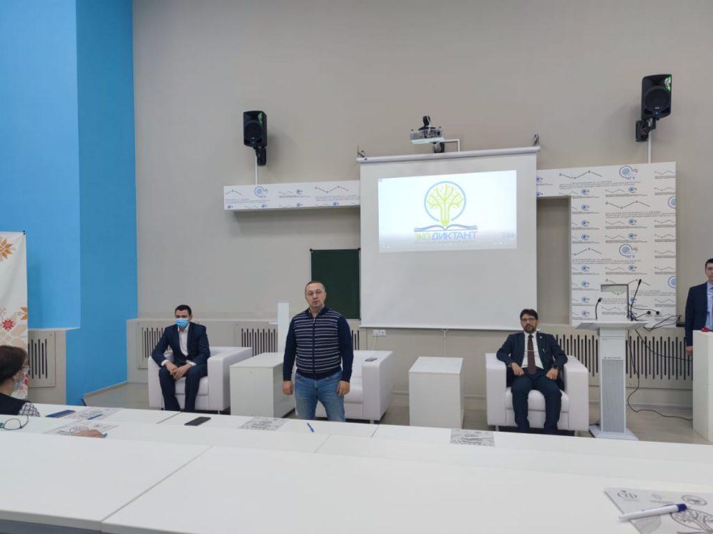 В Чувашской Республике провели экодиктант с участием Александра Воробьева