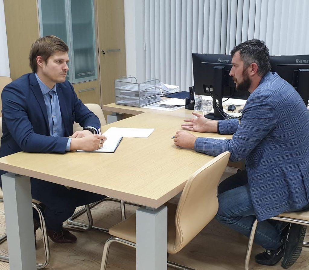 Тимур Татьянченко провел рабочую встречу с руководителем Департамента по архитектуре и градостроительству Краснодарского края