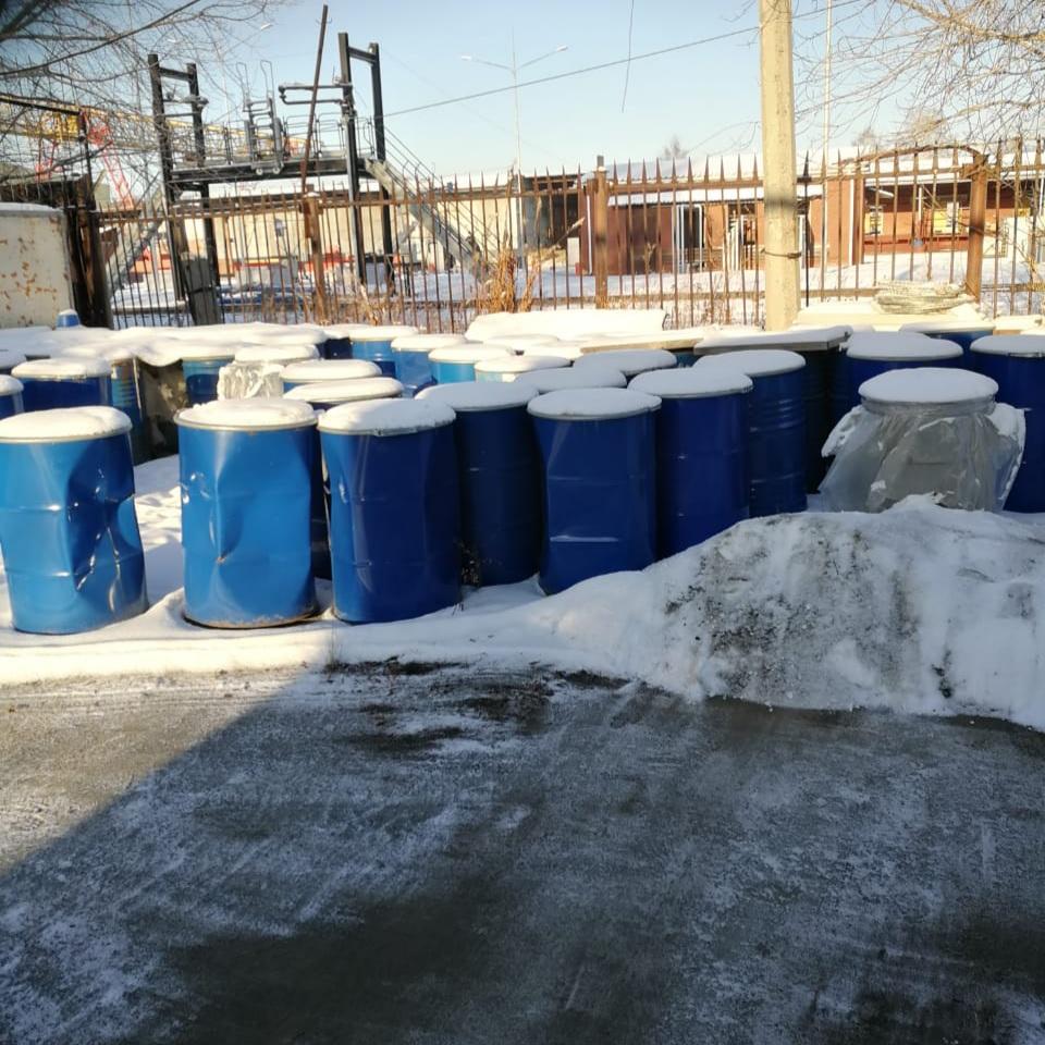При поддержке Российского экологического общества из Екатеринбурга вывезли 11 тонн опасных отходов