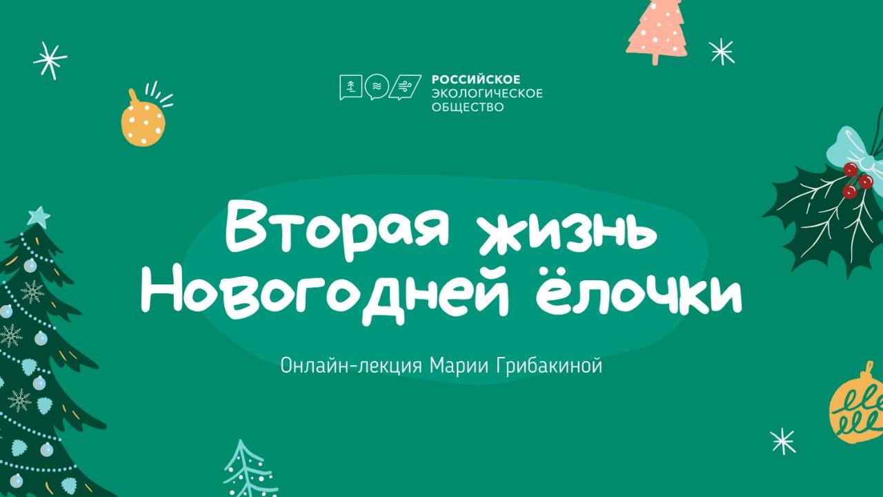Онлайн-лекция на тему «Вторая жизнь Новогодней ёлочки»