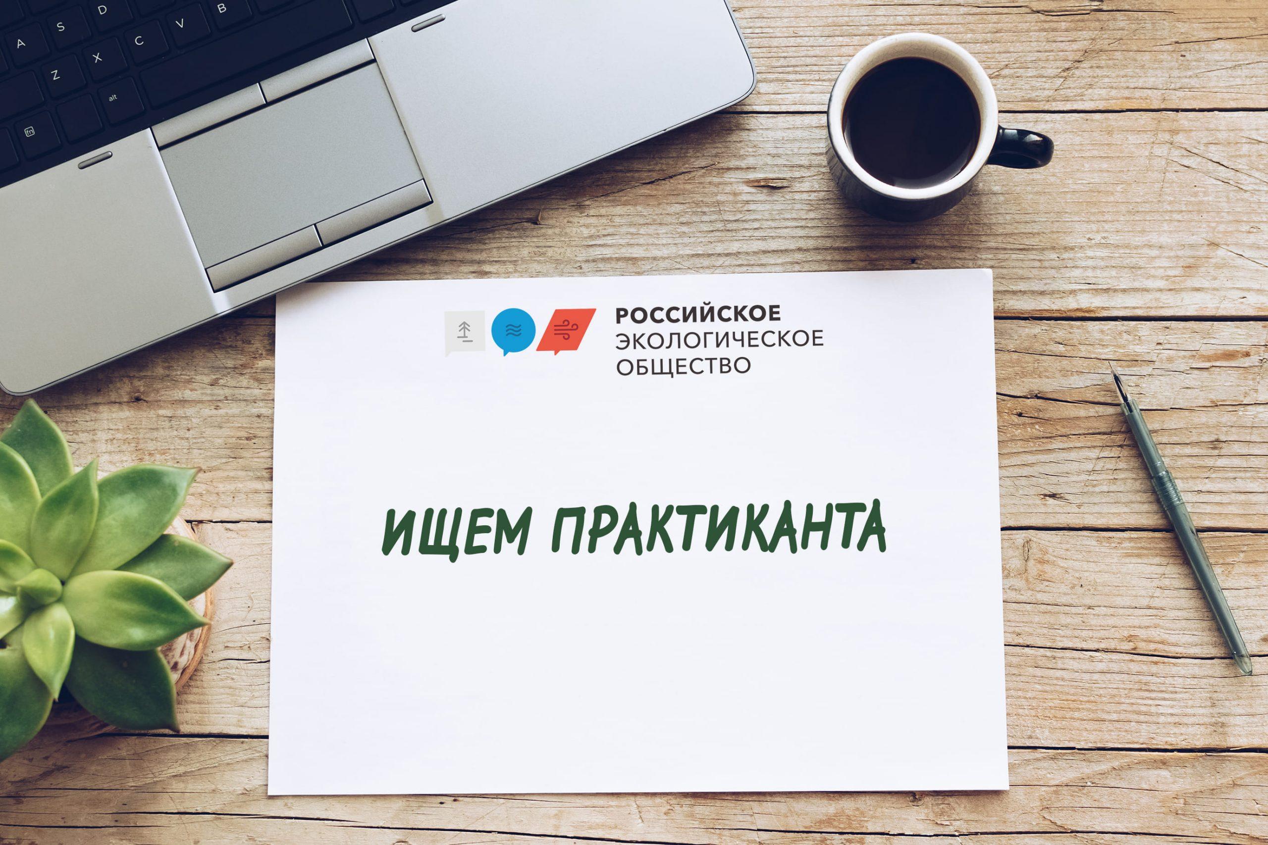 Российское экологическое общество приглашает студентов на практику