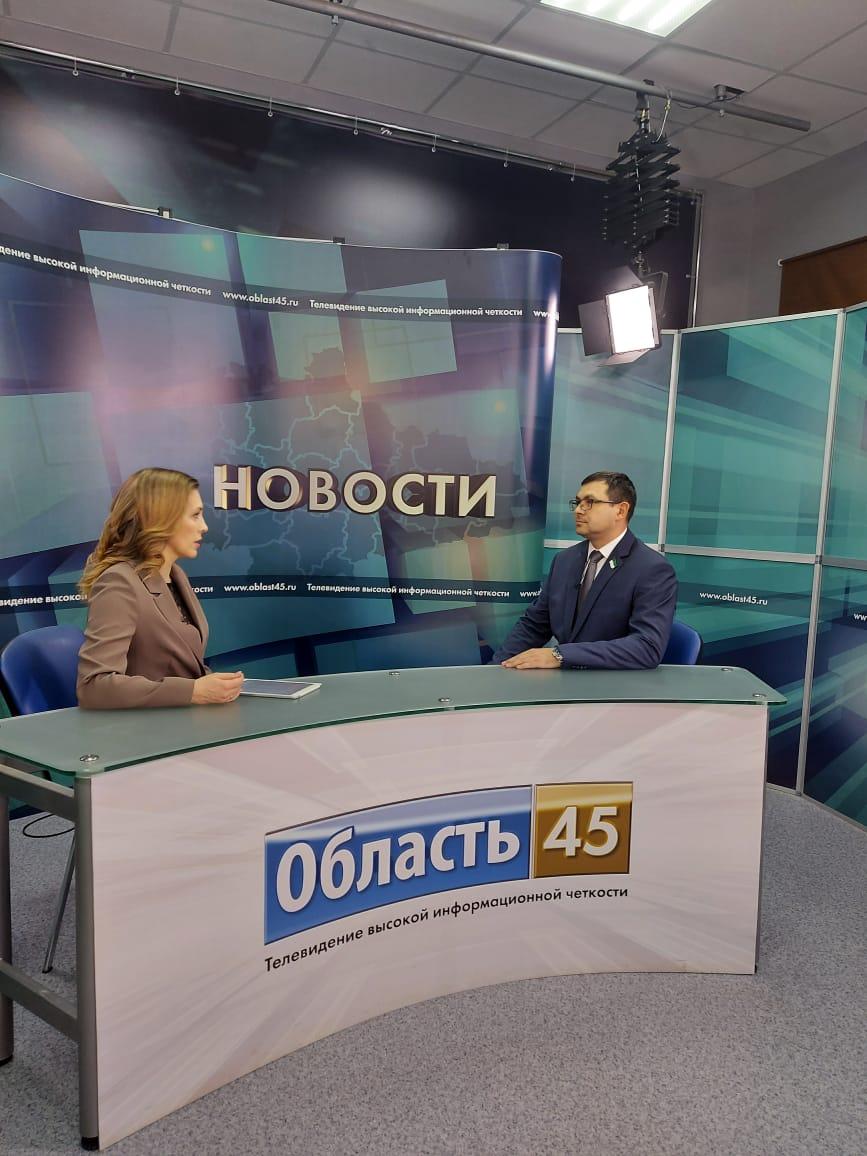 Глава Курганского регионального отделения Российского экологического общества Роман Сергеечев дал интервью телекомпании «Область 45»