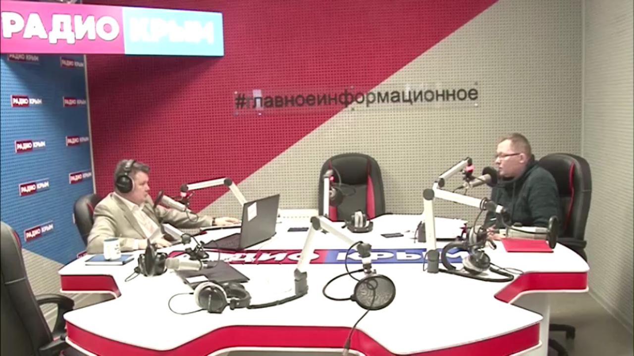 Владимир Разумейко дал интервью телерадиокомпании «Крым»