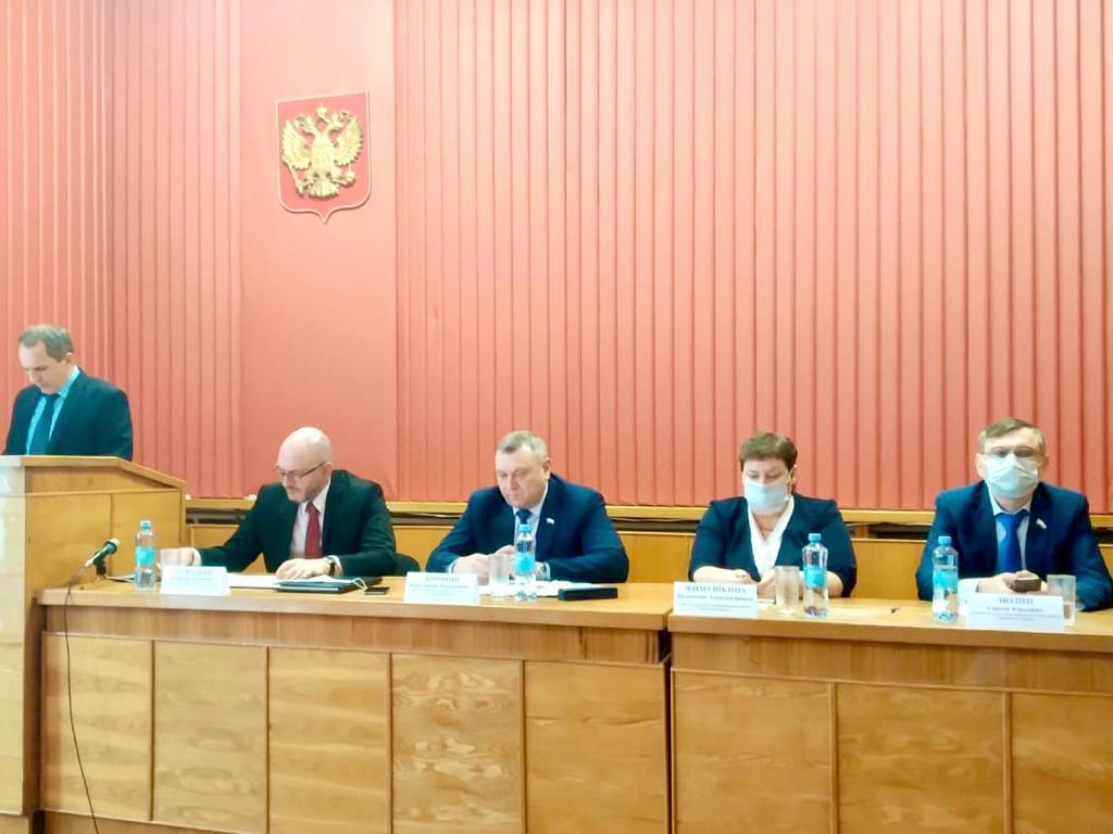 Юрий Бажуткин выступил на совещании по вопросам предотвращения возникновения природных пожаров