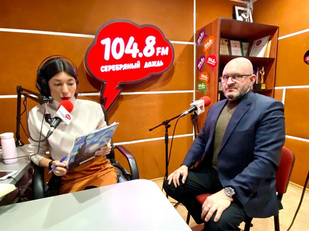 Реализацию Нацпроекта «Экология» обсудили на радиостанции «Серебряный дождь в Саратове»