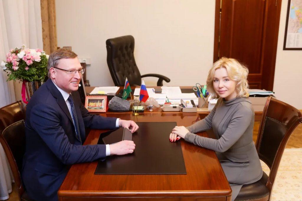 В Росприроднадзоре прошла встреча с губернатором Омской области