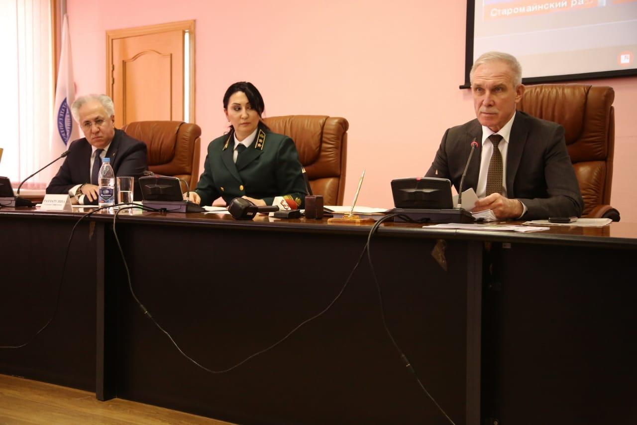 Рашид Исмаилов принял участие в коллегии Министерства природы и цикличной экономики Ульяновской области