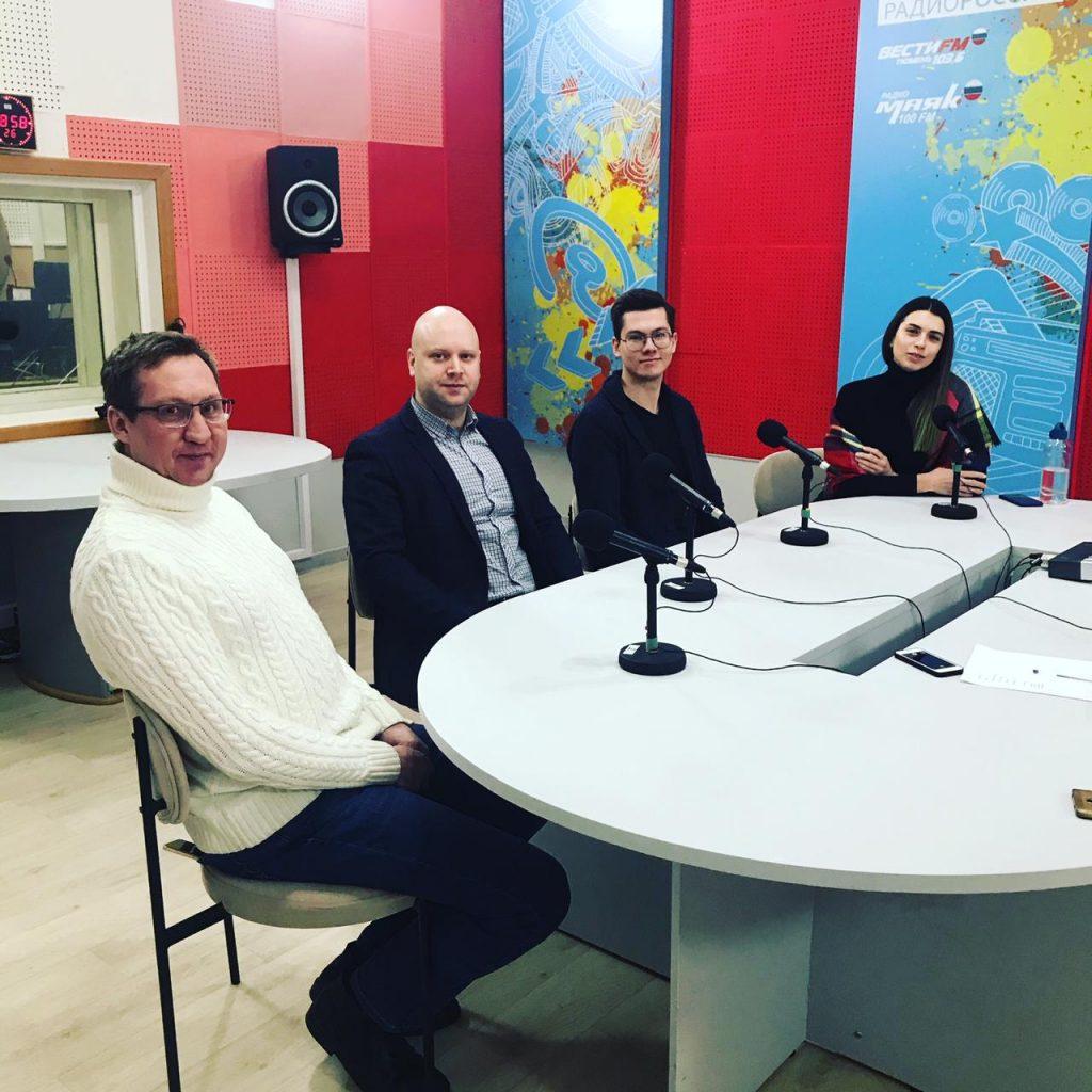 Представители Тюменского регионального отделения Российского экологического общества выступили на радио «Вести FM в Тюмени»