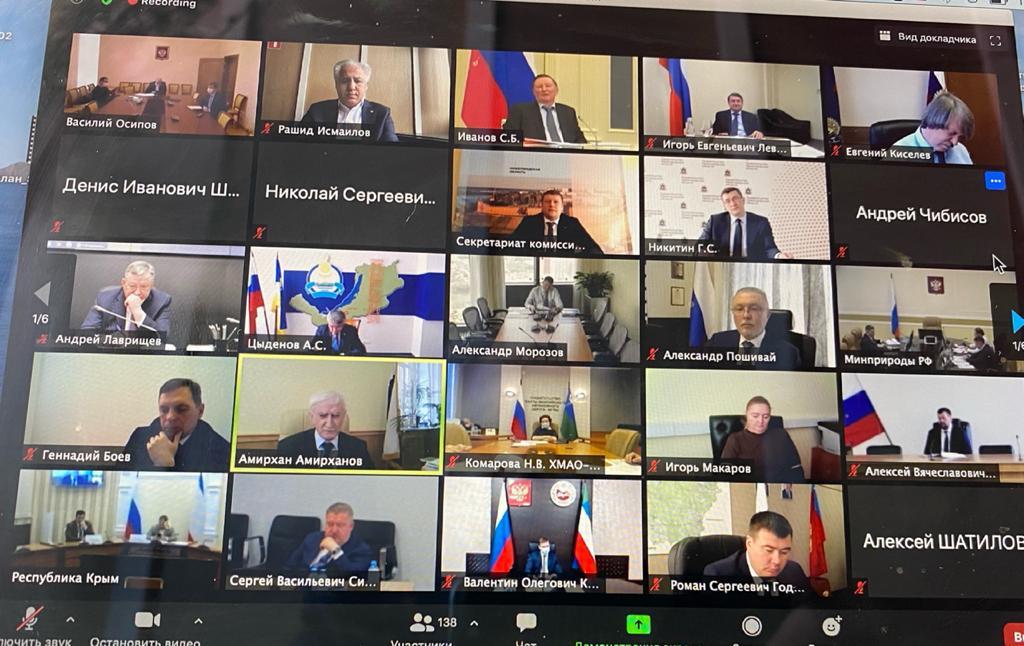 Совместное заседание комиссий Госсовета по направлениям «Экология и природные ресурсы» и «Транспорт»