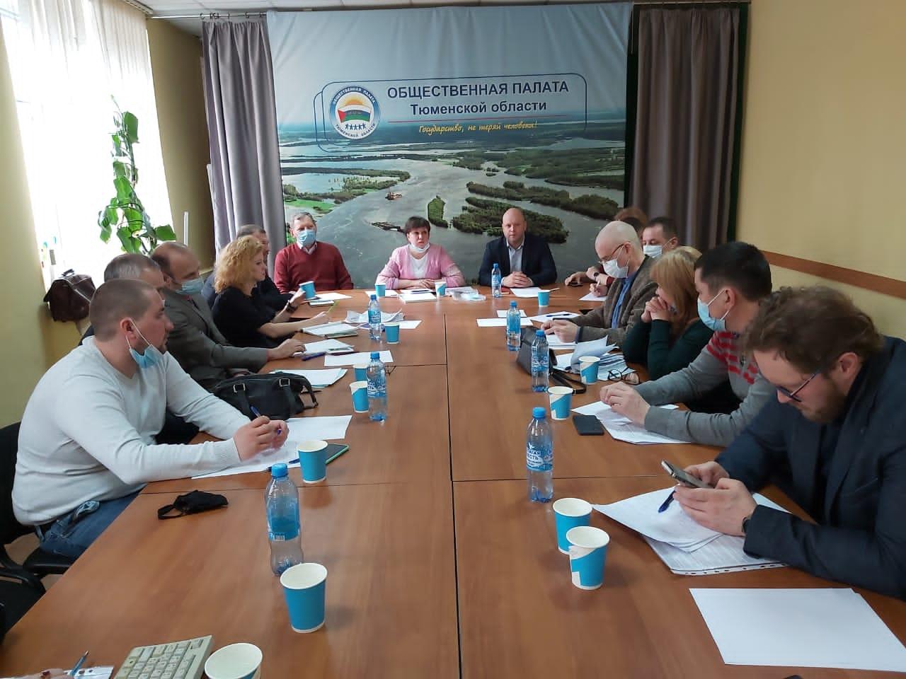 Члены Тюменского регионального отделения Российского экологического общества приняли участие в круглом столе на тему ««Снежные полигоны г. Тюмени - оценка экологической безопасности их эксплуатации»