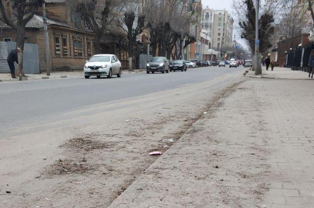 Избыточная пыль в Рязани