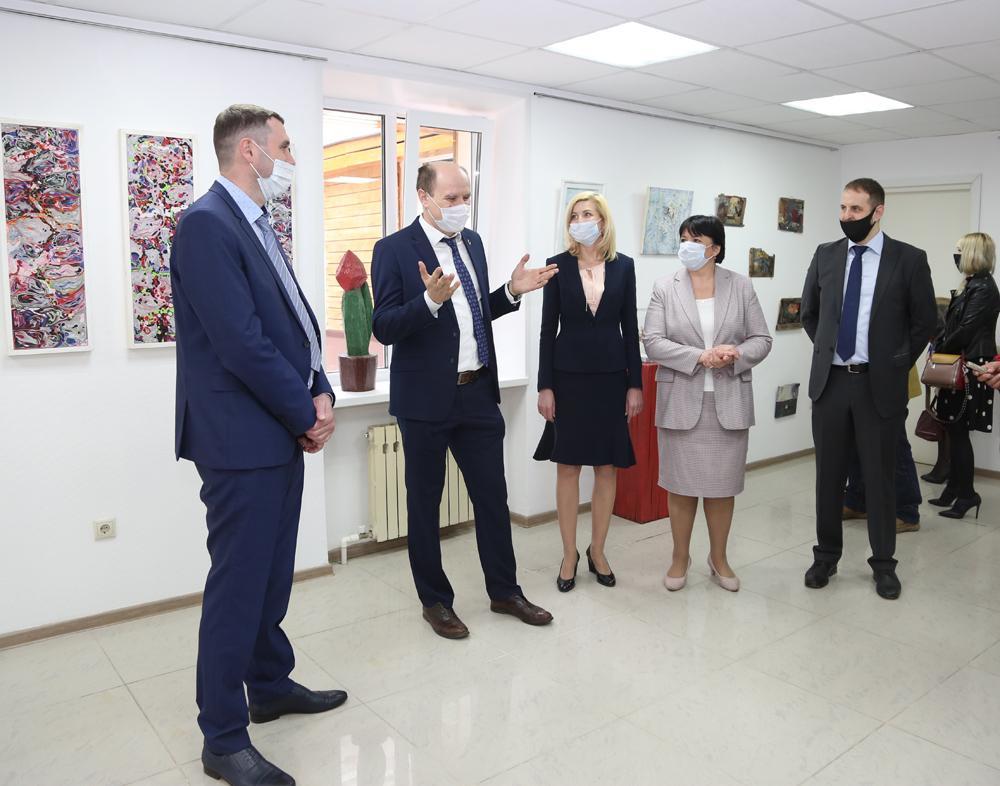 Открытие «Экогалереи» состоялось в парке «Алые паруса» в городе Воронеже