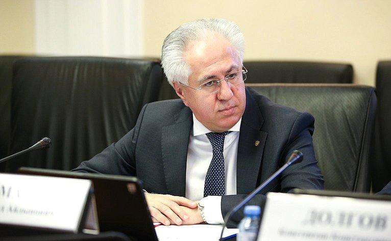 В Совете Федерации обсудили законодательное регулирование развития отрасли экологического машиностроения